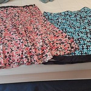 Skirts lot of 2. Size 14